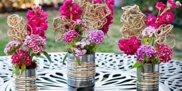 Como fazer arranjo de flores 003