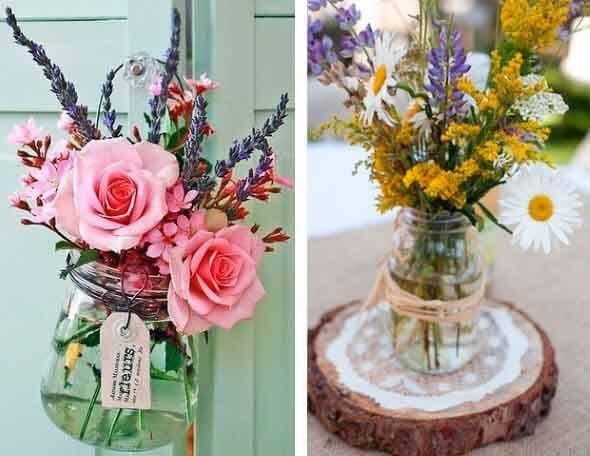 Como fazer arranjo de flores 007