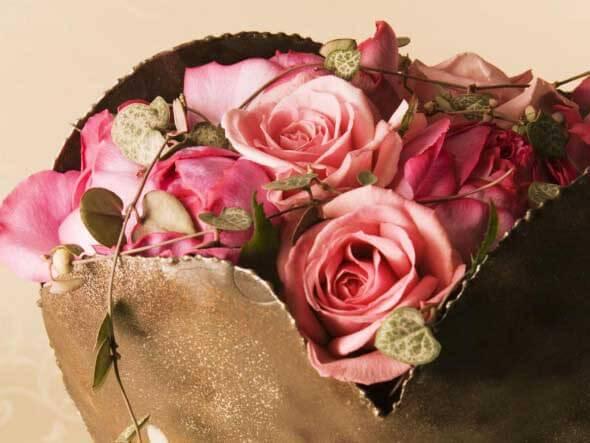 Como fazer arranjo de flores 010