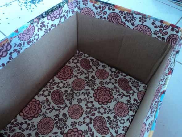 Como fazer uma caixa organizadora 001
