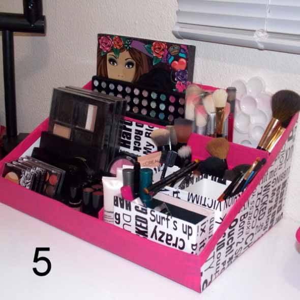 Como fazer uma caixa organizadora 003