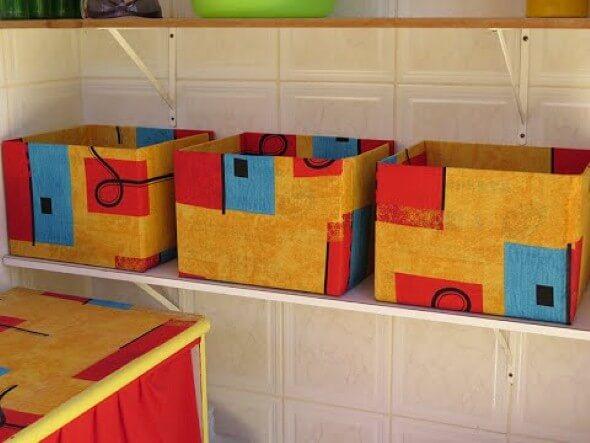 Como fazer uma caixa organizadora 004