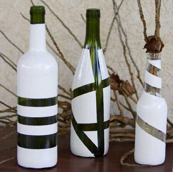 18 Formas criativas de artesanato com garrafas de vidro 002