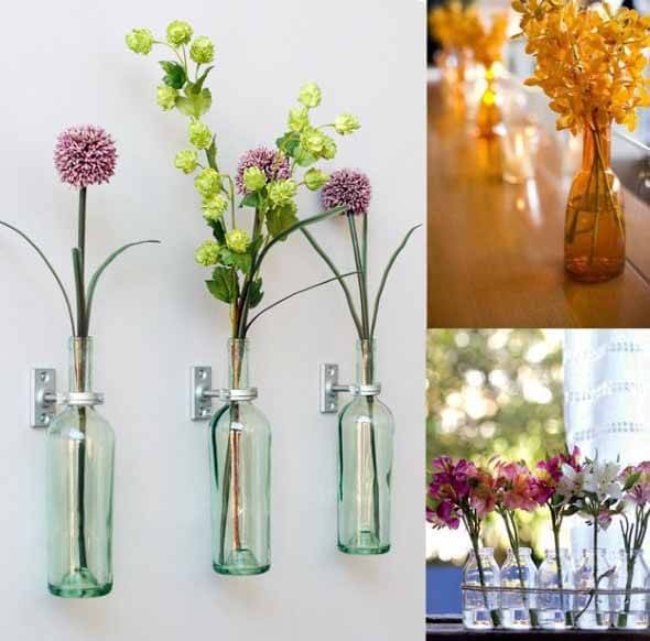 18 Formas criativas de artesanato com garrafas de vidro 005