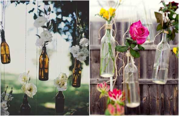 18 Formas criativas de artesanato com garrafas de vidro 007