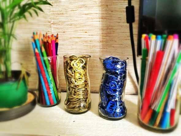 18 Formas criativas de artesanato com garrafas de vidro 011