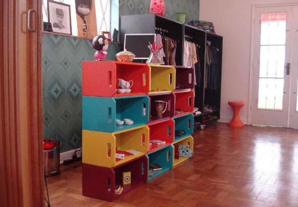 Aprenda a fazer móveis com caixote de feira 003