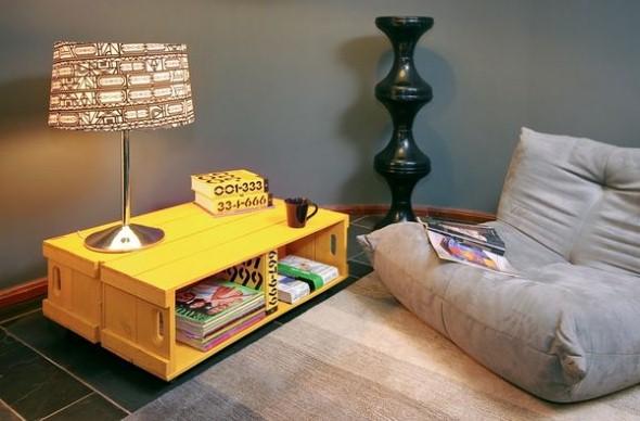 Aprenda a fazer móveis com caixote de feira 005
