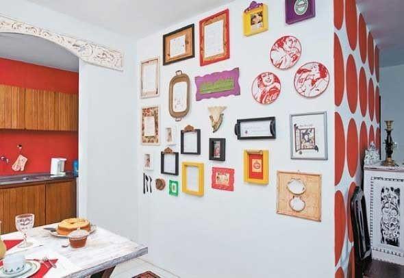 Decorar a casa com quadros artísticos 006