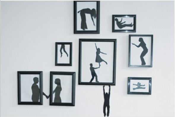 Decorar a casa com quadros artísticos 007