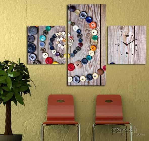 Decorar a casa com quadros artísticos 012