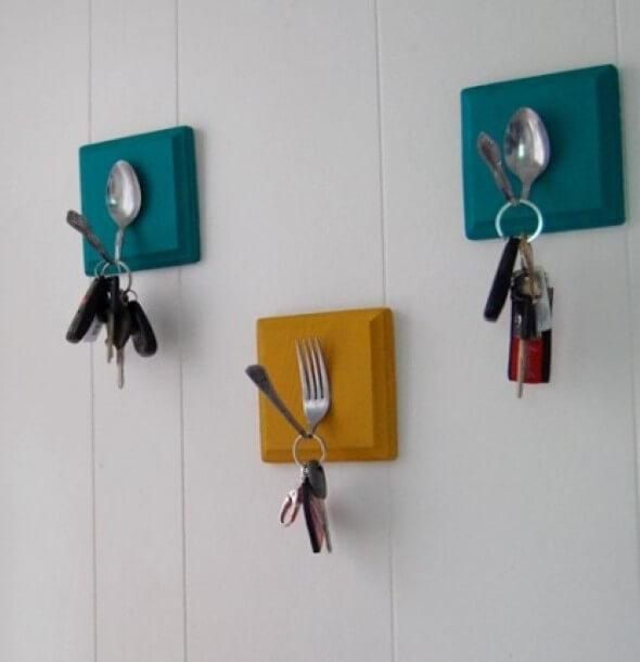 Como fazer um porta-chaves artesanal 002