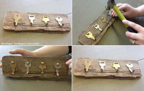 Como fazer um porta-chaves artesanal 009
