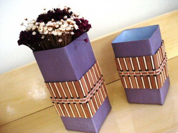 Reciclagem de caixas longa vida 001