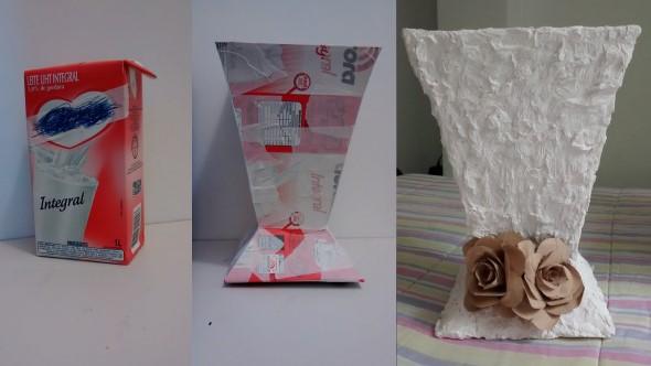 Reciclagem de caixas longa vida 012