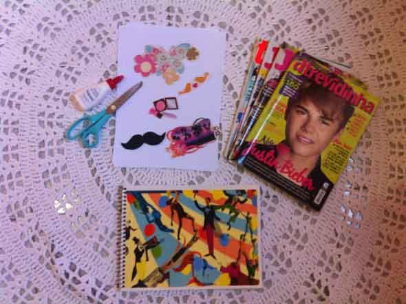 Como decorar seu caderno escolar 003