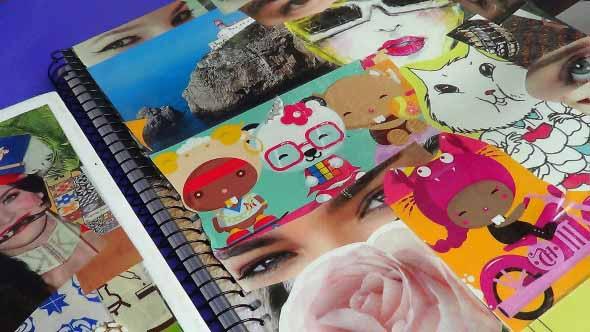 Como decorar seu caderno escolar 005
