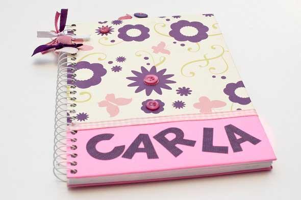 Como decorar seu caderno escolar 007