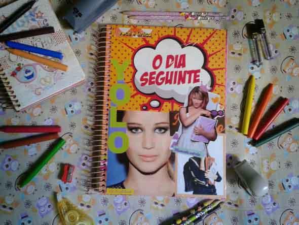 Como decorar seu caderno escolar 010