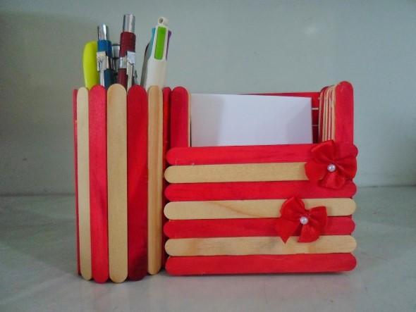 Ideias criativas com palitos de picolé 015
