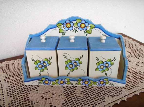 Porta temperos artesanal 006
