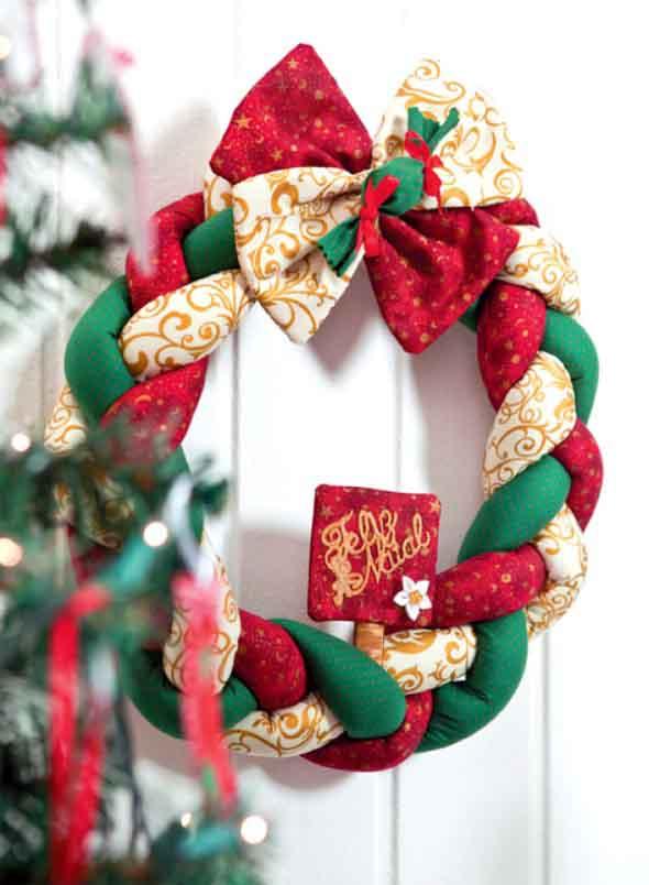 ideias de enfeites de Natal artesanais 002