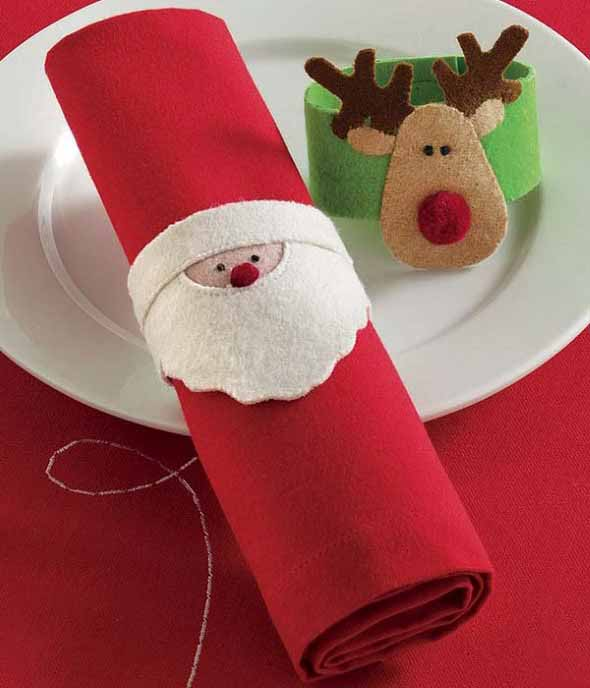 ideias de enfeites de Natal artesanais 004