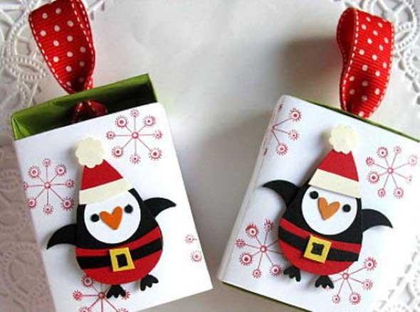 ideias de enfeites de Natal artesanais 013