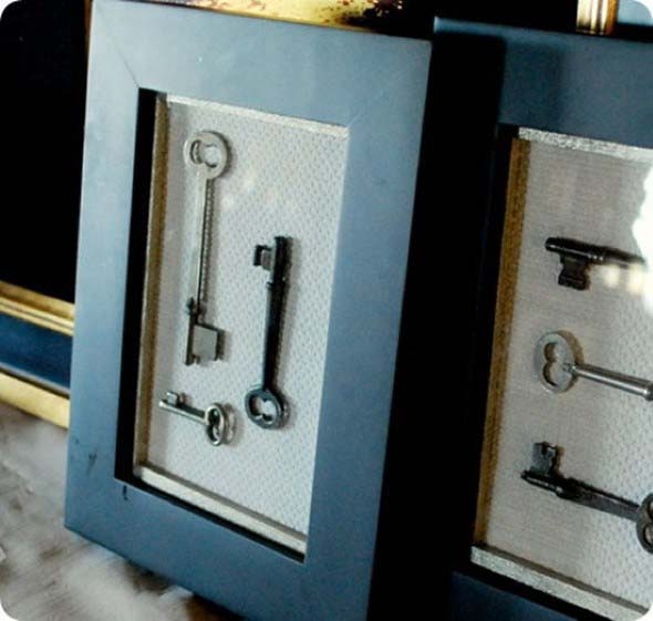 Artesanato com chaves 004