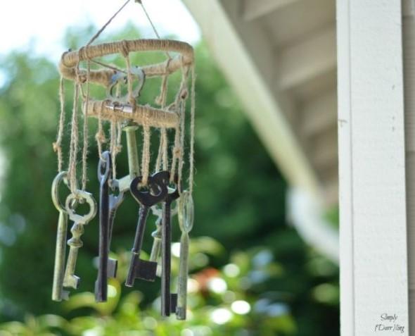 Artesanato com chaves 012