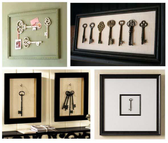 Artesanato com chaves 013