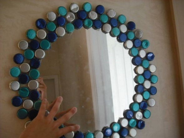 Artesanato com tampinhas de garrafa 004