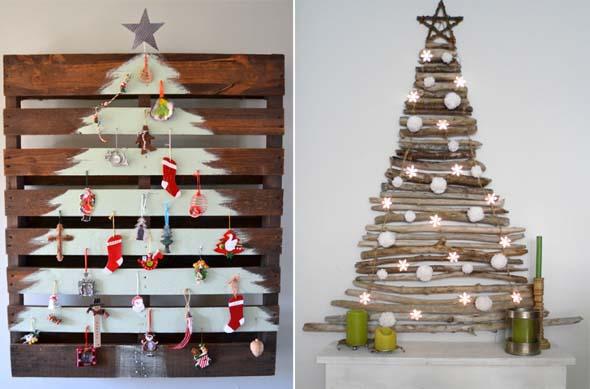Ideias criativas para montar sua árvore de Natal 001