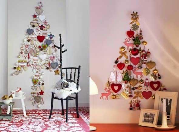 Ideias criativas para montar sua árvore de Natal 006