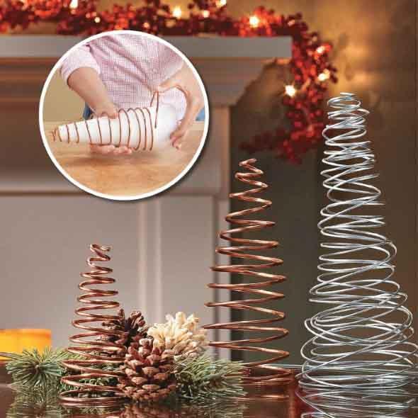Ideias criativas para montar sua árvore de Natal 014