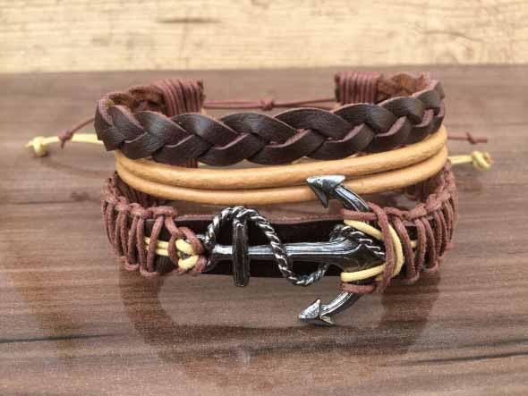 Aprenda a fazer pulseiras navy 010