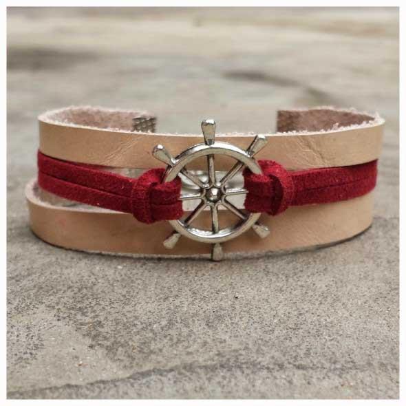 Aprenda a fazer pulseiras navy 011