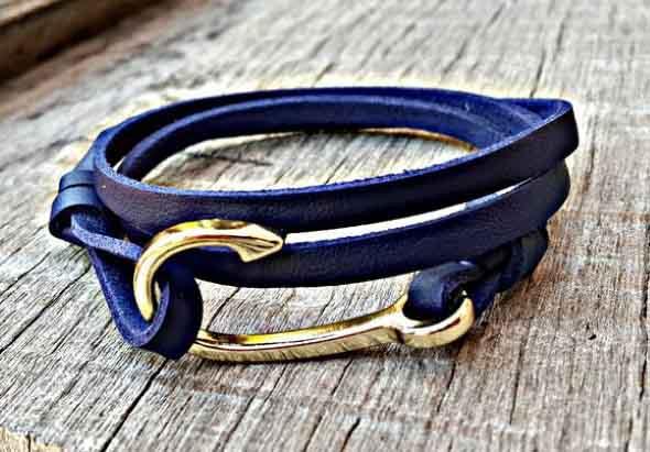 Aprenda a fazer pulseiras navy 013