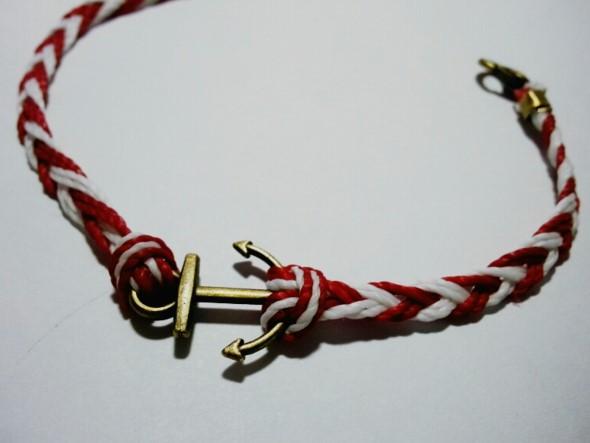 Aprenda a fazer pulseiras navy 015