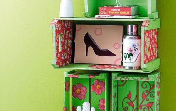 Arte com caixotes de feira 014