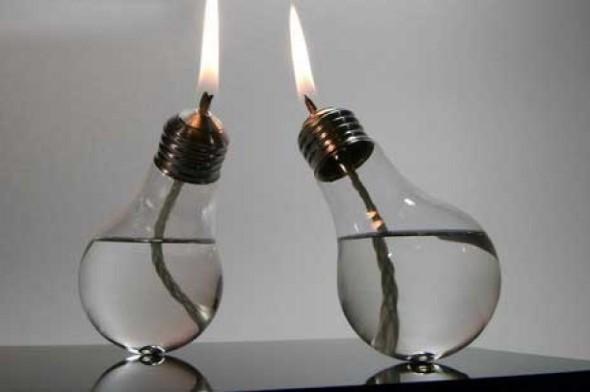 Artesanato com lâmpadas queimadas 008