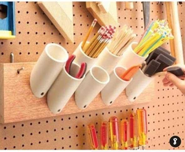 Como fazer porta-lápis de parede 006