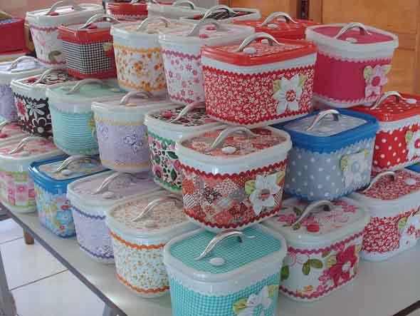 Potes de sorvete decorados 003