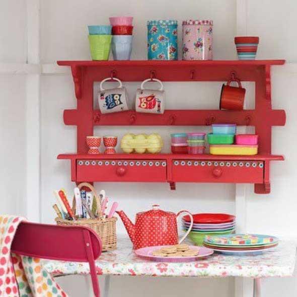 15 Ideias de artesanato com paletes na cozinha 001