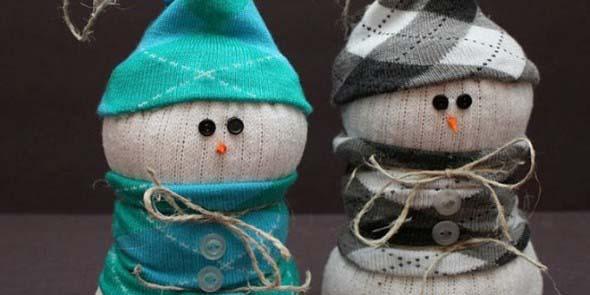 Como fazer um boneco com meias de algodão 002