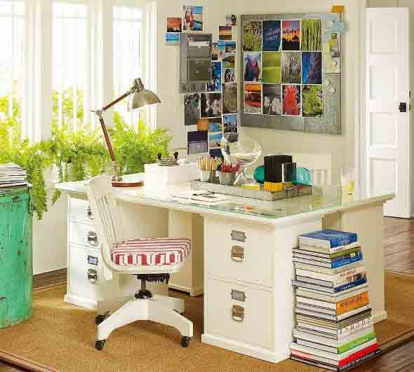 Dicas de artesanato para Home Office 005
