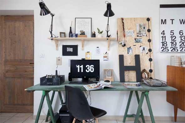 Dicas de artesanato para Home Office 016