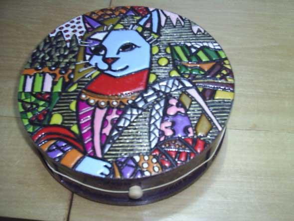 Falso mosaico em MDF 004