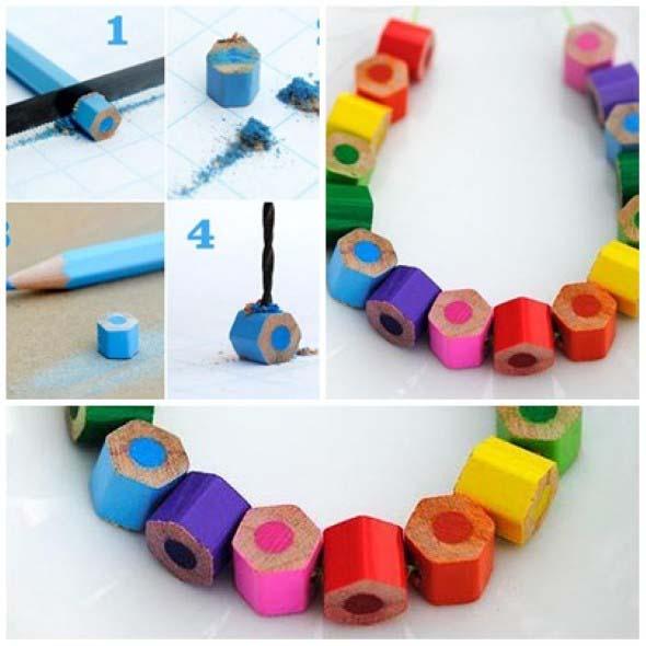 Ideias de artesanato com lápis de cor 011