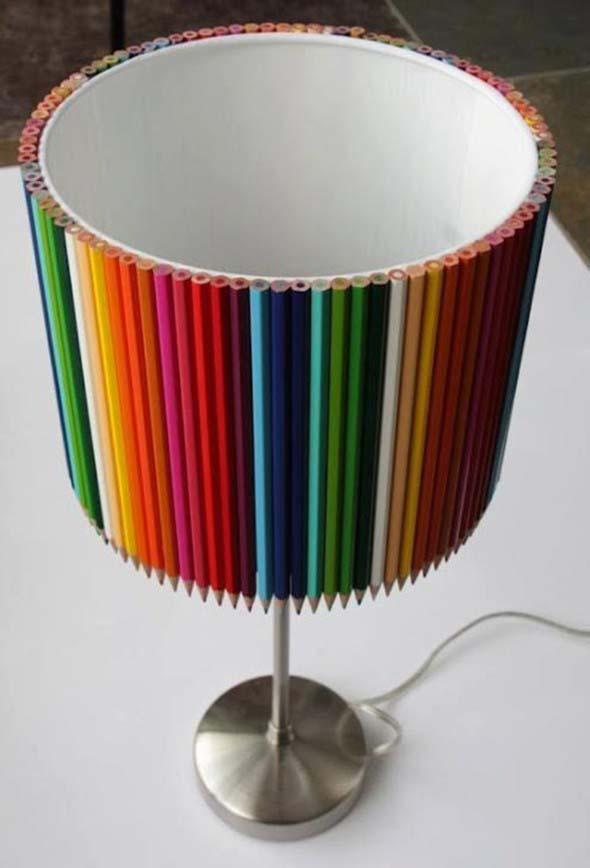 Ideias de artesanato com lápis de cor 013